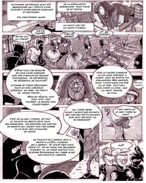 Jesus is pissed! Comic for L'ATTAQUE / Jesus est en Chriss! Comic pour L'ATTAQUE!