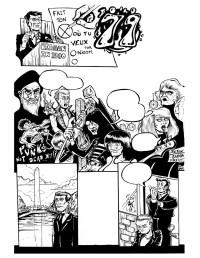 The 70's rules! The 80's, a little less. Comic for L'ATTAQUE! / Une autre pade donné a L'ATTAQUE!