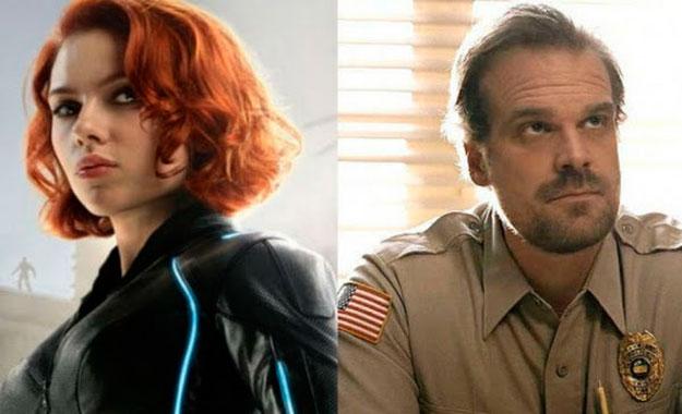 Actor David Harbour confirma su participación en la película de Black Widow