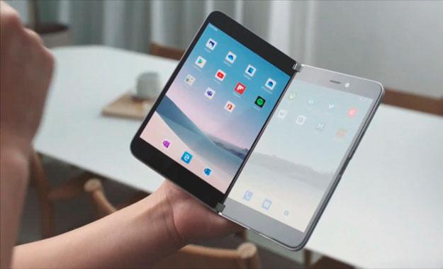 Microsoft presenta su nuevo smartphone plegable Surface Duo