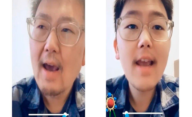 """Snapchat lanza su filtro para ser viejo """"sin que te roben tus datos"""""""