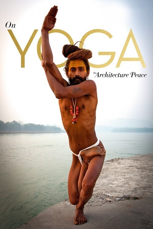 "Poster for the movie ""Yoga arquitetura da paz"""