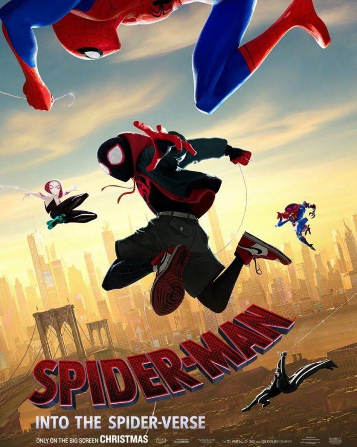 Pôster de Homem-Aranha: No Aranhaverso