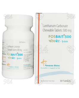 Fosbait 500mg 30 Tablets, Panacea