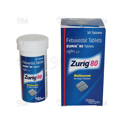984degree-zurig-Febuxostat-80mg-30tablets