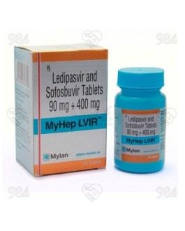 Myhep Lvir 28 Tablet, Mylan