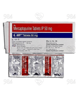 6-MP 50mg 100 Tablet, Zydus