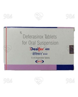 Desifer 400mg 6 Tablet, Novartis