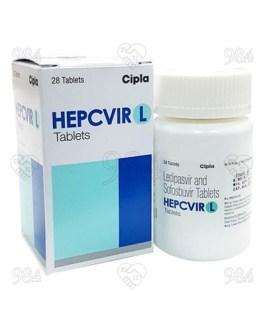 Hepcvir L 28s Tablets, Hetero