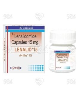 Lenalid 15mg 30 Capsule, Natco