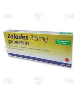 Zoladex 3.6mg Injection, AstraZeneca