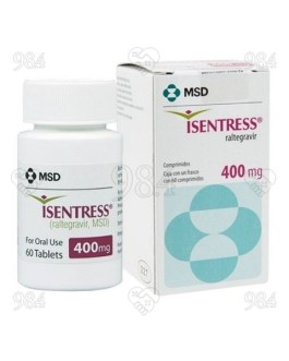 Isentress 400 mg 60s Tablet, MSD