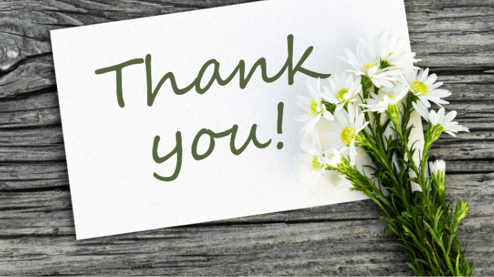 Ways to Say Thank You and Show Apprecitation