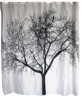 Beautiful Black And White Shower Curtains Design Ideas 60