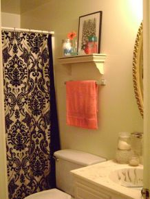 Beautiful Black And White Shower Curtains Design Ideas 66