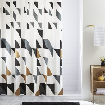 Beautiful Black And White Shower Curtains Design Ideas 79