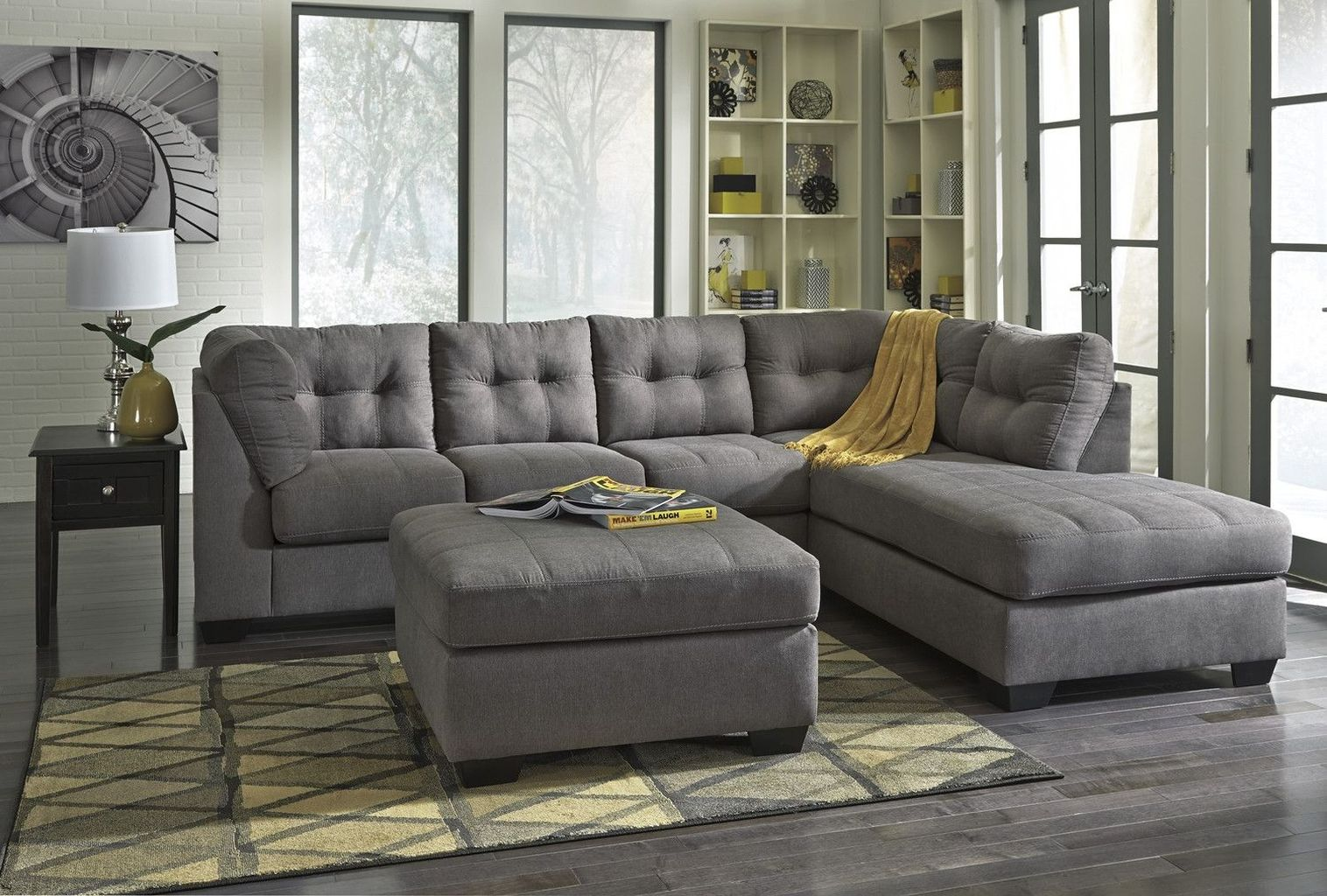 Comfortable Ashley Sectional Sofa Ideas For Living Room 45