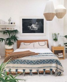 Comfy Boho Chic Style Bedroom Design Ideas 05