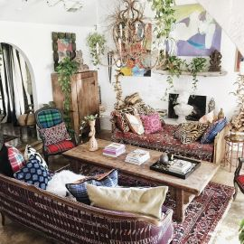 Comfy Boho Chic Style Bedroom Design Ideas 14