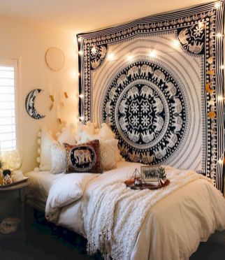 Comfy Boho Chic Style Bedroom Design Ideas 55