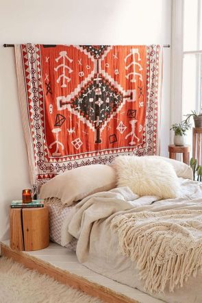 Comfy Boho Chic Style Bedroom Design Ideas 64