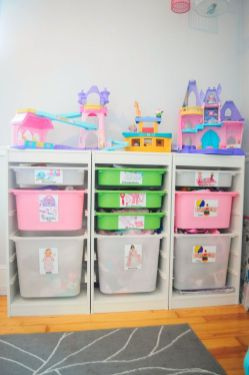 Creative Toy Storage Ideas for Small Spaces 38