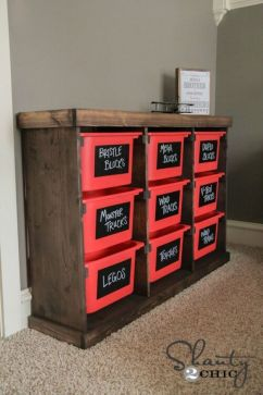 Creative Toy Storage Ideas for Small Spaces 76