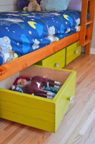 Creative Toy Storage Ideas for Small Spaces 88