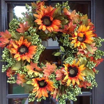 Easy But Inspiring Outdoor Fall Decoration Ideas 28