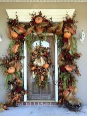 Easy But Inspiring Outdoor Fall Decoration Ideas 31