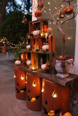 Easy But Inspiring Outdoor Fall Decoration Ideas 35