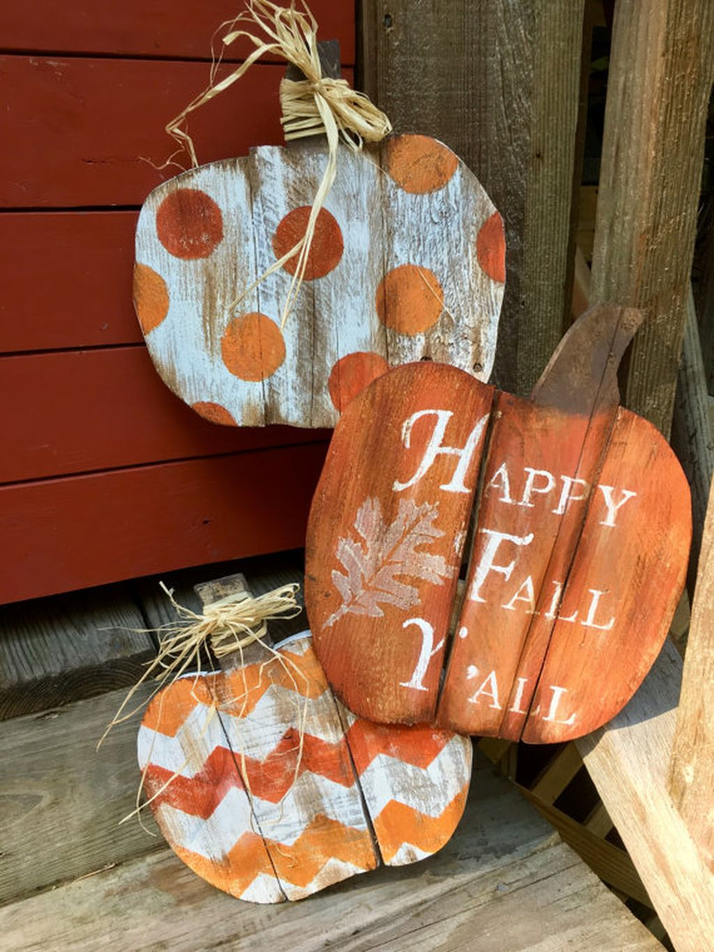 Easy But Inspiring Outdoor Fall Decoration Ideas 58