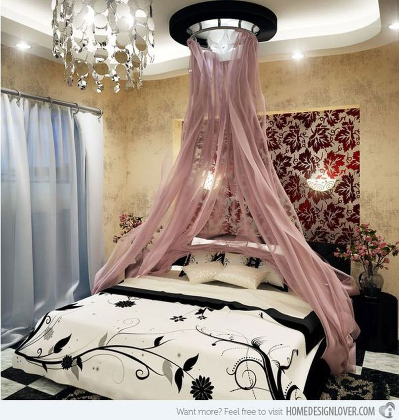 Inexpensive Romantic Bedroom Design Ideas You Will Totally Love 34