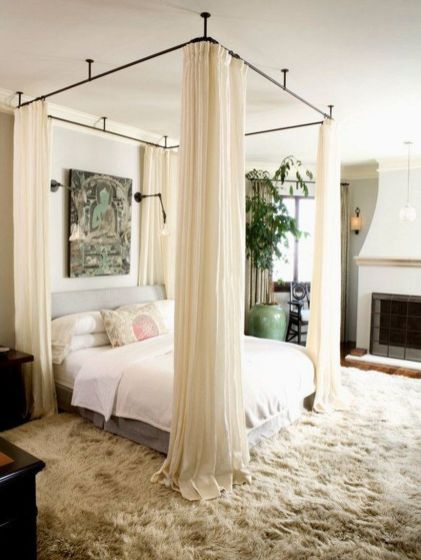 Inexpensive Romantic Bedroom Design Ideas You Will Totally Love 92