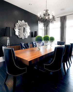 Inspiring Contemporary Style Decor Ideas For Dining Room 35