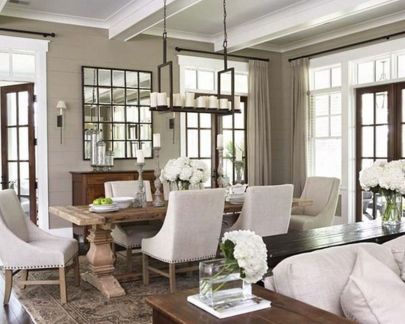Inspiring Contemporary Style Decor Ideas For Dining Room 61