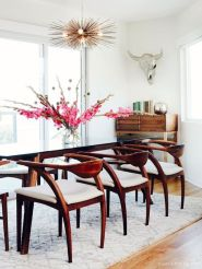 Inspiring Contemporary Style Decor Ideas For Dining Room 87