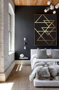 Modern And Minimalist Wall Art Decoration Ideas 41