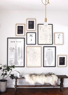 Modern And Minimalist Wall Art Decoration Ideas 92