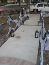 Scary Front Yard Halloween Decoration Ideas 09