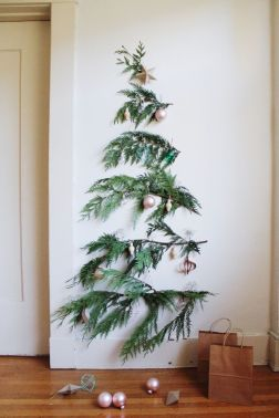 Space Saving Christmas Tree Ideas Suitable For Small Rooms 56