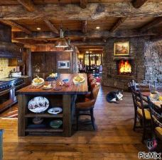 Beautiful Farmhouse Style Rustic Kitchen Cabinet Decoration Ideas 15