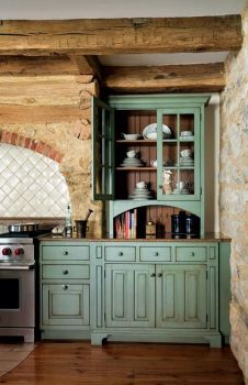 Beautiful Farmhouse Style Rustic Kitchen Cabinet Decoration Ideas 23