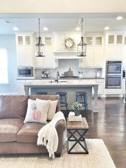 Beautiful Farmhouse Style Rustic Kitchen Cabinet Decoration Ideas 42