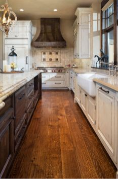 Beautiful Farmhouse Style Rustic Kitchen Cabinet Decoration Ideas 47