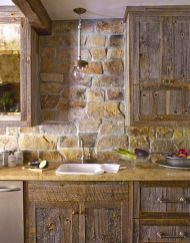 Beautiful Farmhouse Style Rustic Kitchen Cabinet Decoration Ideas 57