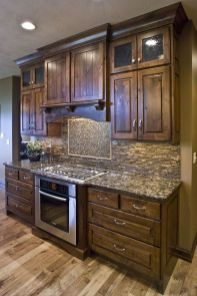 Beautiful Farmhouse Style Rustic Kitchen Cabinet Decoration Ideas 64
