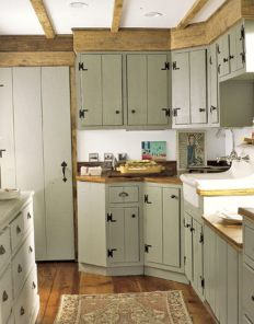 Beautiful Farmhouse Style Rustic Kitchen Cabinet Decoration Ideas 66