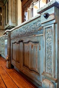 Beautiful Farmhouse Style Rustic Kitchen Cabinet Decoration Ideas 67
