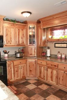 Beautiful Farmhouse Style Rustic Kitchen Cabinet Decoration Ideas 82